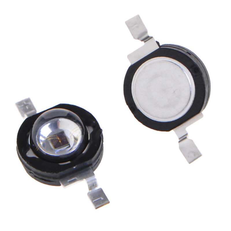 3Watt 3W high power led 850nm Infrared LED IR for night vision cctv DIY RS