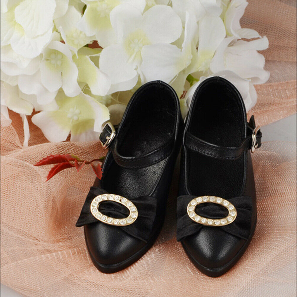 Dollmore BJD Illua Doll Shoes - Jewellery Shoes (Black)