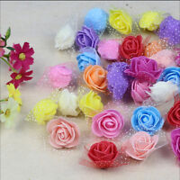 10/100 Foam Rose Flower Home Wedding Car Decoration Craft Wedding Flower Gn - unbranded/generic - ebay.co.uk