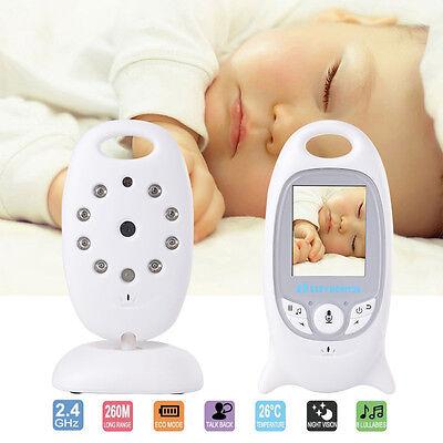 Digital Wireless Baby Monitor LCD Audio Video Security 2.4G Night Camera Viewer