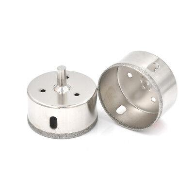 60mm Diamond Coated Drill Bit Hole Saw Kit Glass Ceramic  Cutter Tip (Glass Saw Kit)