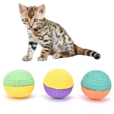 cat eva ball candy color per lot soft foam play multicolor balls for catATUJ