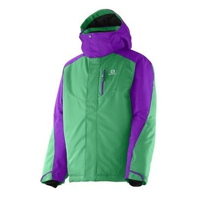 Junior Snowboard Bekleidung (Salomon INCLINE Junior Jacket, Jungen Ski Snowboard Jacke Gr.164 TOP *NEU + OVP*)