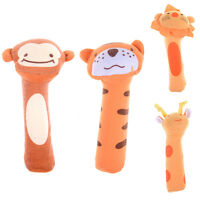 1x Baby Rattle Toy Bibi Bar Animal Squeaker Toys Infant Hands Puppet Plush-doll - unbranded - ebay.co.uk