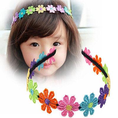 Girlande-Blumen-Stirnband Für Mädchen-Blumen-Kronen OX W0HWC (Blume Stirnbänder Für Mädchen)