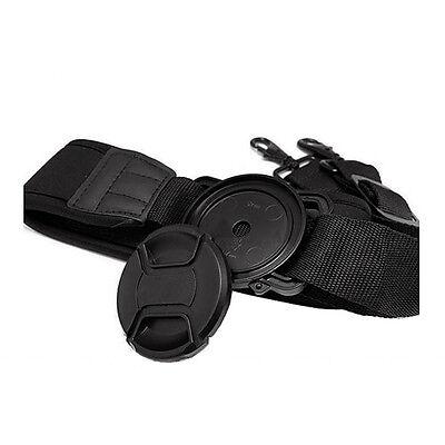 Camera lens cap buckle holder keeper for Canon Nikon Sony Pentax 52/58/67mm HK
