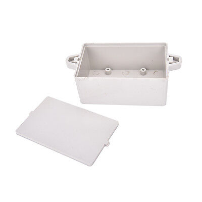 Waterproof Electronic Project Box Enclosure Plastic Cover Case 825235mm Fo