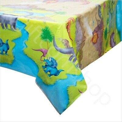 Dinosaur Party Plastic Table Cloth Cover PVC Tablecloth Kids Birthday Tableware