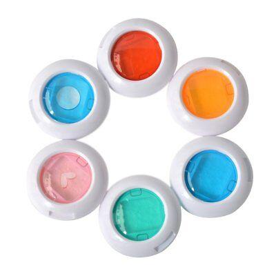 6 Pack, Close Up Color Lens Filter Set for Fujifilm Instax Mini 8/ 8+/ 9 Camera