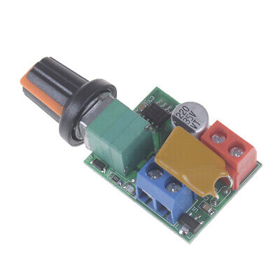 1x Mini Dc 5a Motor Pwm Speed Controller 3-35v Speed Control Switch Led Dimmerne