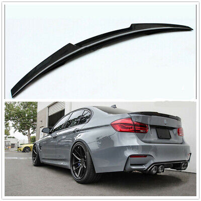 Rear Roof Trunk Spoiler Wing Carbon Fiber Style Fits BMW E90 325i 330i 335i M3