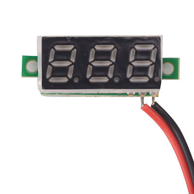 0.28 Inch Dc 2.5v-30v Green Led Mini Digital Voltmeter Voltage Tester Meter Xu