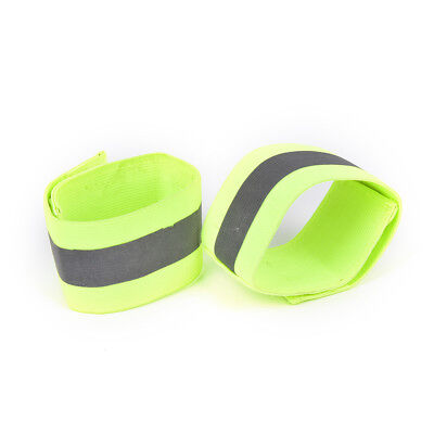 Night Safty Reflective Wrist Band Arm Ankle Belt Strap Cycling Running Armband^F
