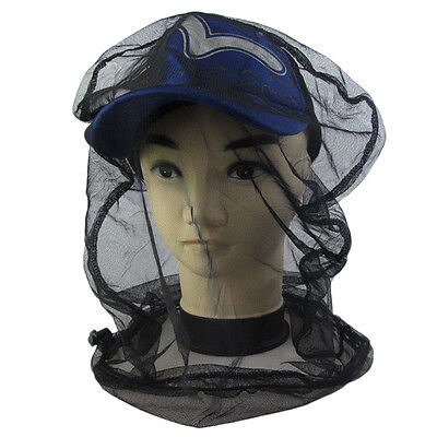 Mosquito Bug Insect Bee Mesh Head Net Protect Hat Fishing Camping Hunting FB buy at eBay.co.uk