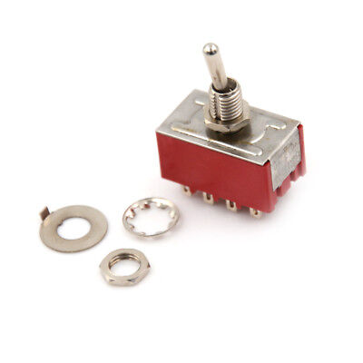 Mts-402 6a125vac 2a250vac 12 Pin 4pdt Onon 2 Position Mini Toggle Switch  I-