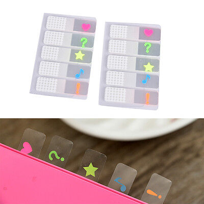 100 Sheets Marker Index Tabs Flags Sticky Note Sticky Office School Supplies Xr