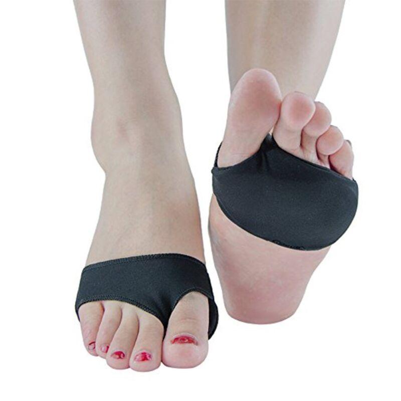 1 Paar Silikon Vorfußpolster Vorfußschutz Fußsohle Fußpolster Einlegesohlen Heel