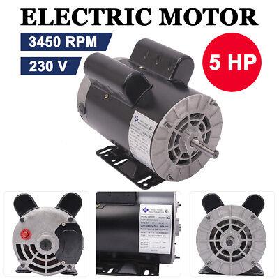 5 Hp 3450 Rpm Electric Air Compressor Duty Motor 56 Frame 58 Shaft 60 Hz 230v