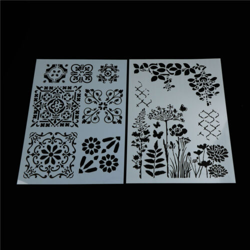 flower layering stencils for walls painting scrapbooking sta