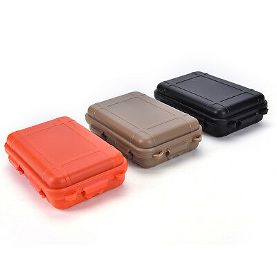 Big size!Outdoor Shockproof Waterproof Airtight Survival Storage Case  Boxes 0^