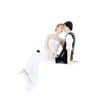 Romantic Bride and Groom Wedding Cake Topper Couple Hug Kiss Bridal Decor RG WD Bride Groom Wedding Cake