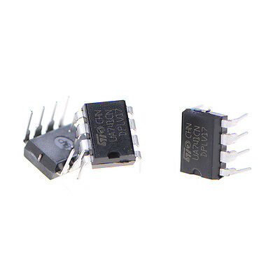 10pcsset Ua741 Ua741cp Ua741cn St Dip-8 Operational Amplifiers Op Amp Kw