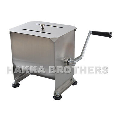 Hakka 20 Pound 10 Liter Capacity Tank Commercial Manual Meat Mixers Fmm01