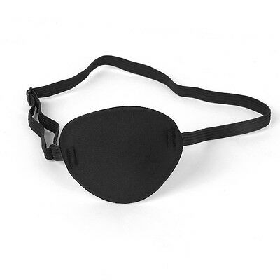 Pirate Eye Patch Mask Eyeshade Cover Plain for Kids & Adult Lazy Eye Amblyopia