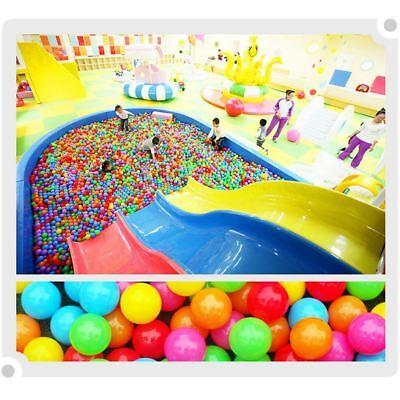 200 Pcs 5.5CM Plastic Play Balls Pits Crush Proof Ocean Balls Toys for Baby Kids