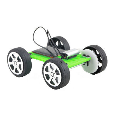 1Pc Mini Solar Toy DIY Car Children Educational Puzzle IQ Gadget Hobby Robot LJ