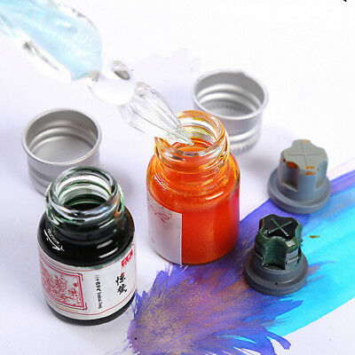 Powder Color Ink For Fountain Dip Pen Calligraphy Writing Painting Graffiti Qw
