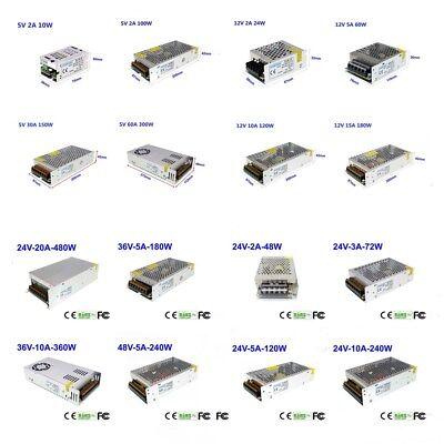 1pcs Dc 5v12v24v36v48v Regulated Switch Power Supply Driver 3d Printer