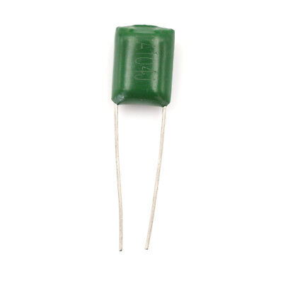 New 100pcs Polyester Poly Film Capacitors Assortment Kit 0.1nf100nf 2a104 Ly