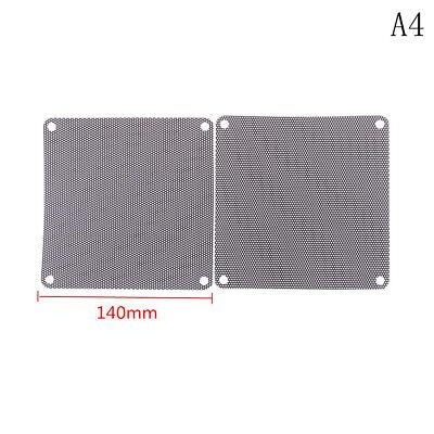 2pcs 140 x140mm Computer Mesh Fan Cooler Dust Filter Dustproof Case Cover UX