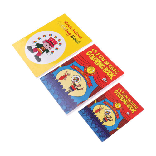 Details about Funny Coloring Book Comedy Magic Books Close-up Street Magic  Tricks Kids Toy