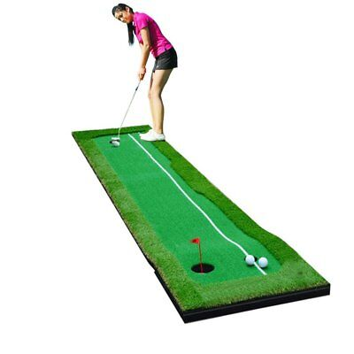 Professional Golf Putting Green Mat - Bonus FREE Training Golf Tool - Best (Best Golf Putting Mat)