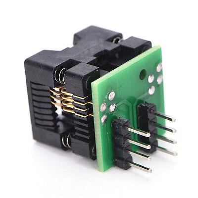 Soic8 Sop8 To Dip8 Ez Programmer Adapter Socket Converter Module 150mil New.
