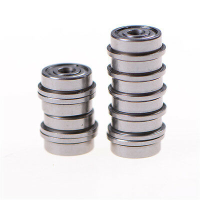 10pcs F623zz Mini Metal Double Shielded Flanged Ball Bearings For 3d Printerecu