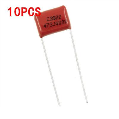 10pcs 400v 47nf 473j Cbb Polypropylene Film Capacitor