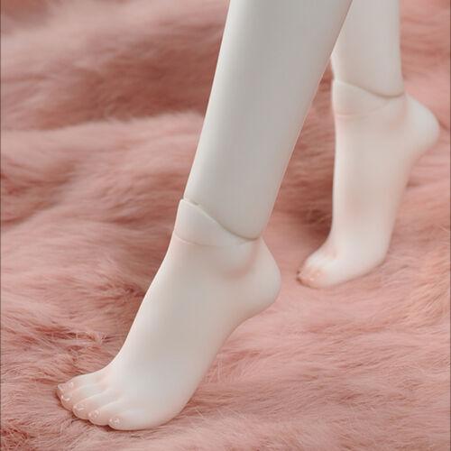 Dollmore 1/4 BJD Kid Feet Set - high heeled Feet Set (White)