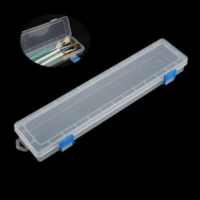 1Pc Brush Painting Pencils Storage Box Watercolor Pen Container Drawing Tool OT