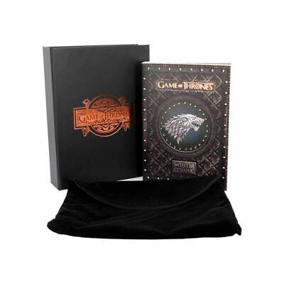 Game Of Thrones Stark Winter Is Coming Sammelobjekt Notizbuch - Verpackt (Game Of Thrones Zubehör)