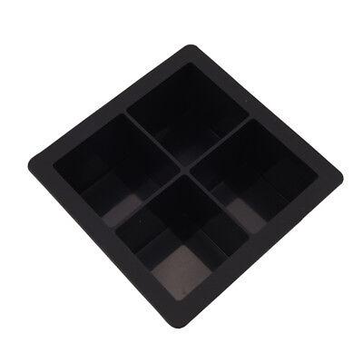- giant Silicone Ice Cube Square jumbo king Size Big Black Mould Large Mold Tray *