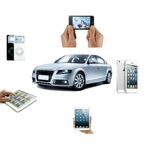 iPHONE 6 AUDI MUSIC DATA INTERFACE AUX ADAPTER CABLE 8-PIN LIGHTING AMI MMI MDI