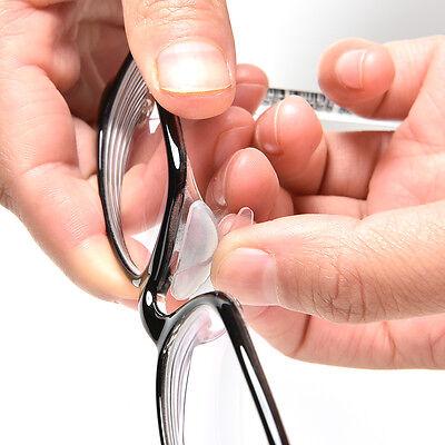 5 Pairs Anti-slip Silicone Nose Pads Stick On Nose Pad For Eyeglasses Glasses - Nose Glasses