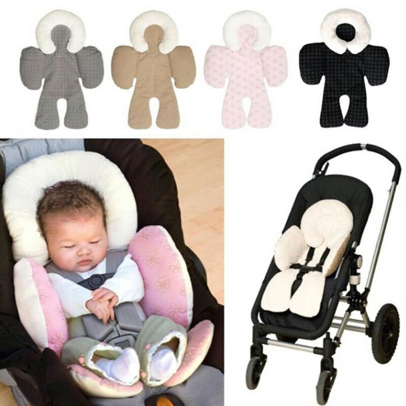 Infant baby soft stroller car seat pillow cushion head body