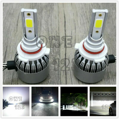 9005 HB3 CREE LED Headlights Bulbs Conversion Kit High/Low Beam 6000K White 55W