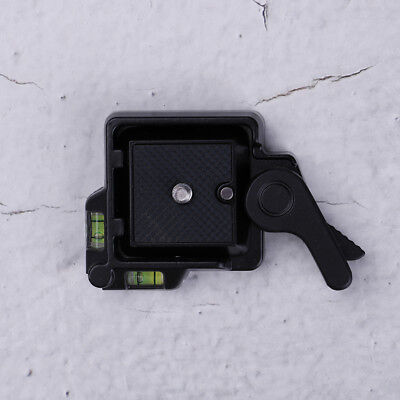 Clamp & quick release qr plate for tripod monopod ball head