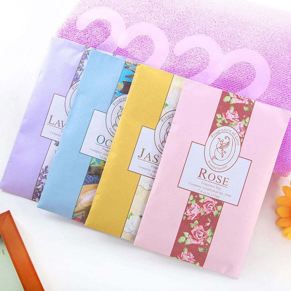 6x Duftende Taschen Duftsäckchen Beutel Duftkissen für Kleiderschrank Auto