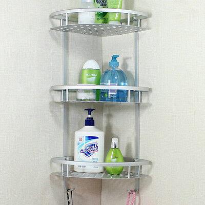 Bathroom Accessories Space Aluminum Shower Caddy Wire Basket
